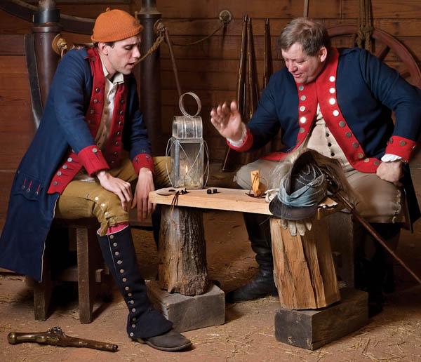 gambling colonial america